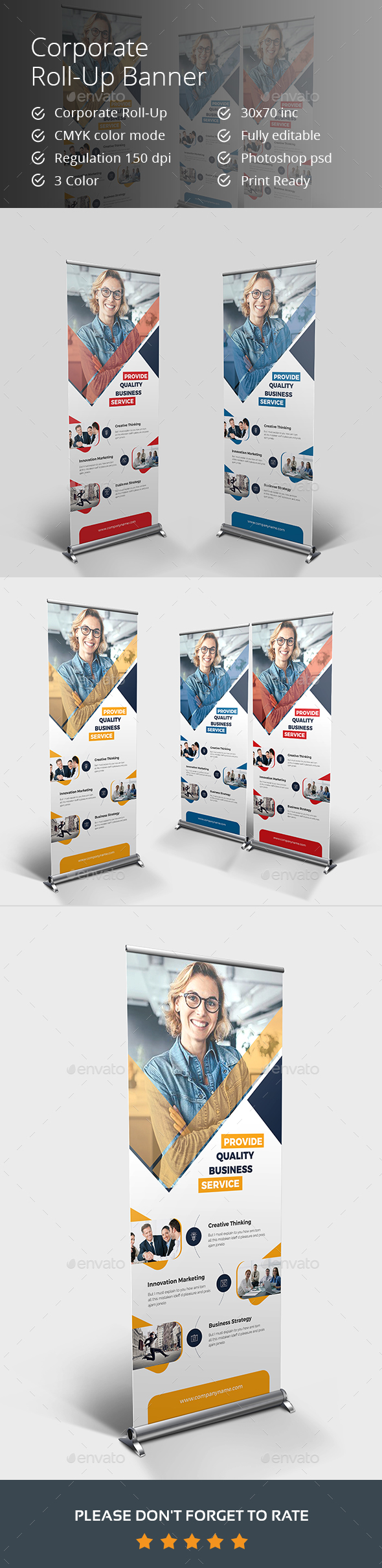 GraphicRiver Roll-up Banner 21002726
