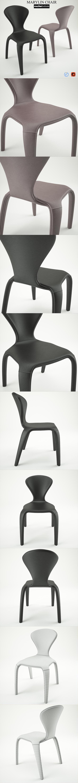 3DOcean Marilyn Chair Roche Bobois 21002736