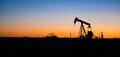 Texas Oil Pump Jack Fracking Crude Extraction Machine Sunset - PhotoDune Item for Sale