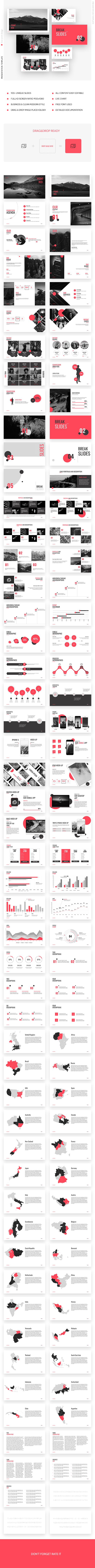 GraphicRiver Point Red Presentation Template Keynote 20980289