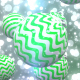 Falling Christmas Balls with Particles - VideoHive Item for Sale
