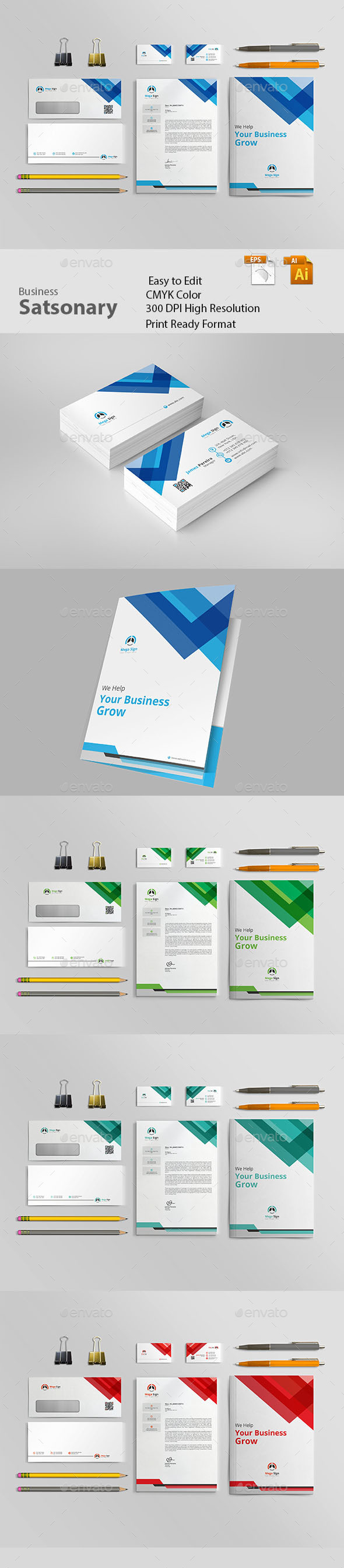 GraphicRiver Stationery 20989089
