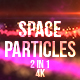 Space Particles Reveal - VideoHive Item for Sale