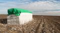 Fresh Bail Harvest Cotton Farm Field Texas Agriculture - PhotoDune Item for Sale