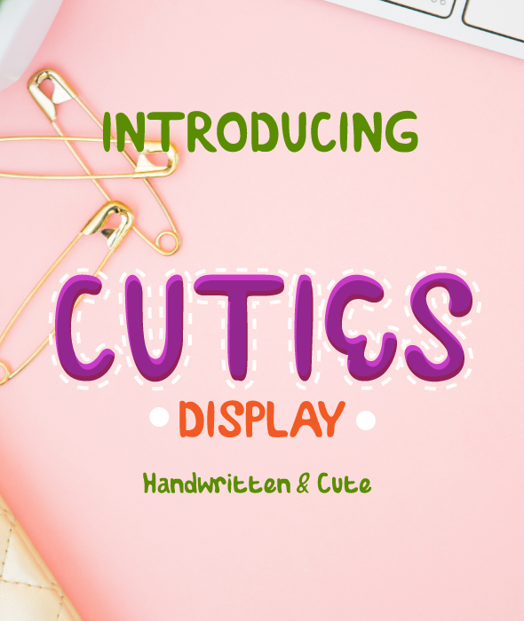 GraphicRiver Cuties Font 21003626