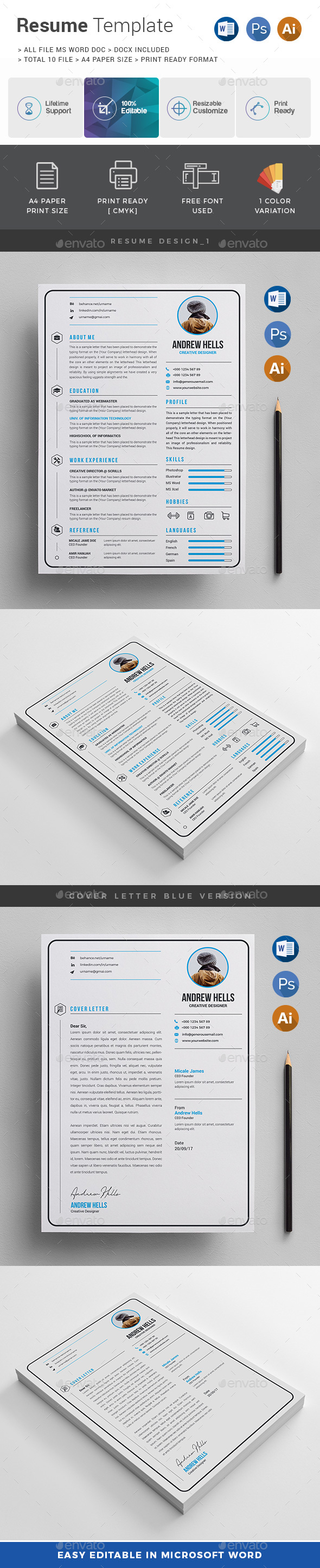 resume  cv by generousart