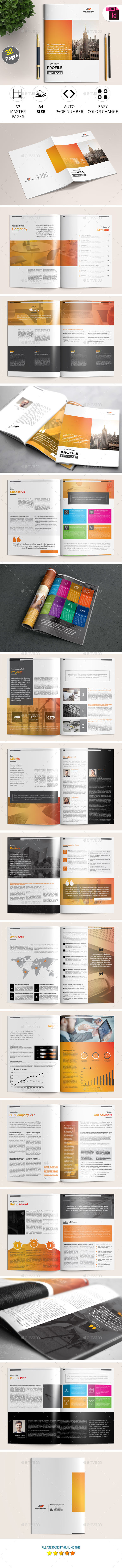 Company Profile Template - Corporate Brochures