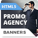 HTML5 Animated Banner Ads - Promo Agency (GWD)