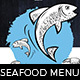 Seafood Menu Templates - GraphicRiver Item for Sale
