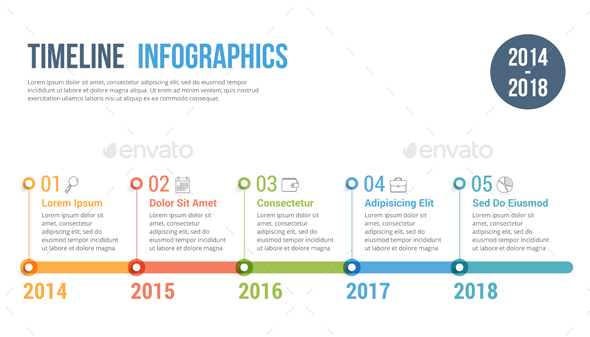 GraphicRiver Timeline Infographics 21003949