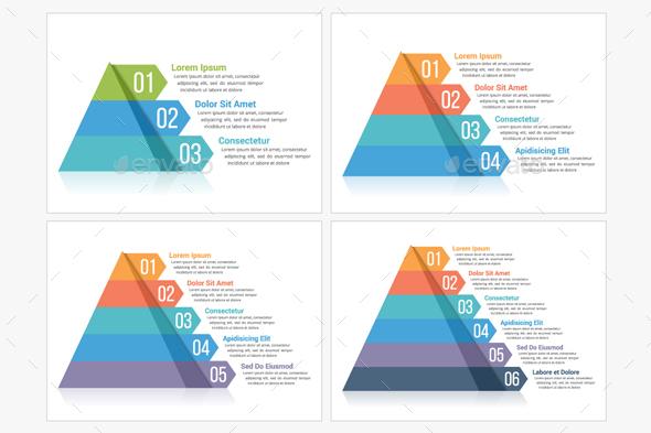 GraphicRiver Pyramid Infographics 21003961