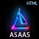Asaas- Saas & App Landing Html5 Template - ThemeForest Item for Sale