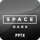 Space Dark PowerPoint