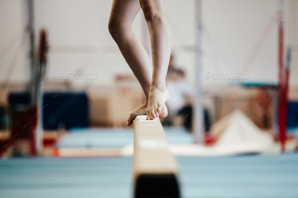 competition gymnastics - Stock Photo - Images
