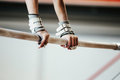hands grips athletes female gymnast