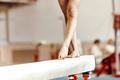 closeup legs women gymnasts