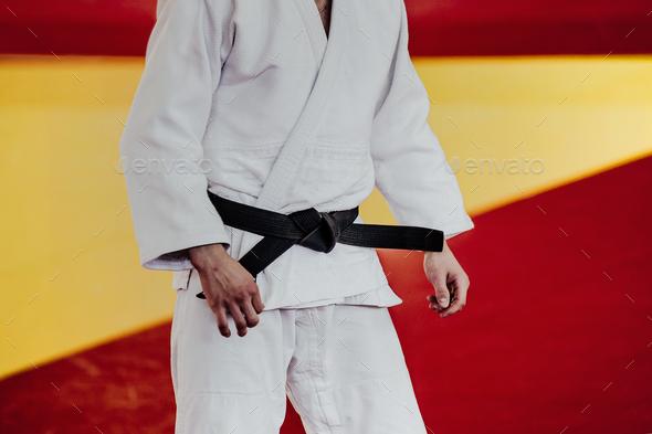 athlete judoka - Stock Photo - Images
