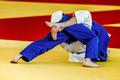 grip feet fighter judoka