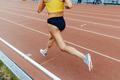 woman legs athlete runner