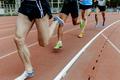 men legs athlete runner
