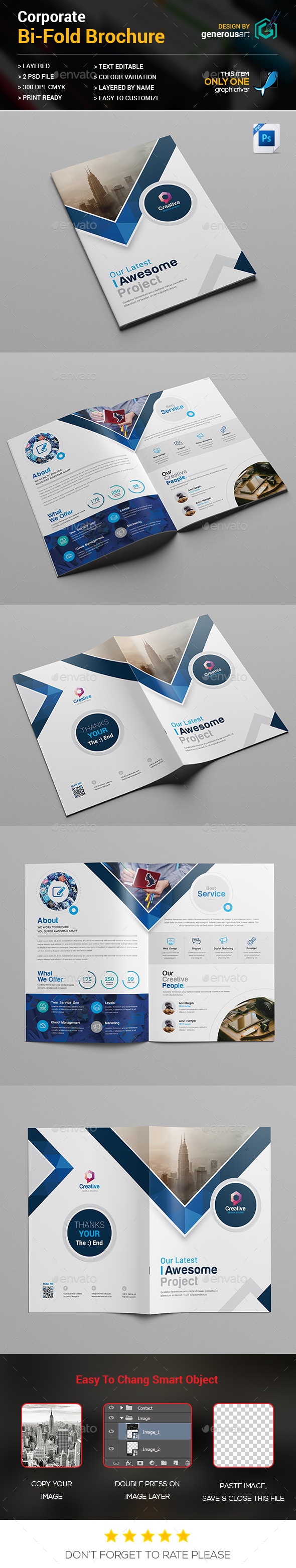 GraphicRiver Bi-fold Brochure 21004447