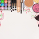 Christmas makeup cosmetics with copy space - PhotoDune Item for Sale