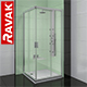 Corner shower cabins Ravak Blix - 3DOcean Item for Sale