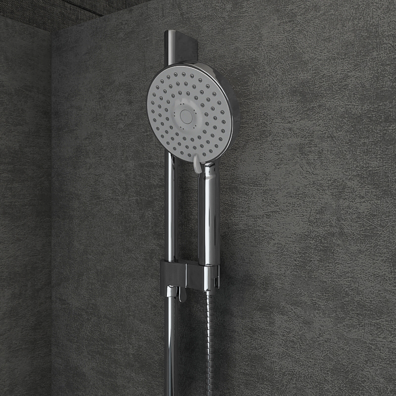 Semicircular shower enclosures Ravak Blix by madMIX_X | 3DOcean