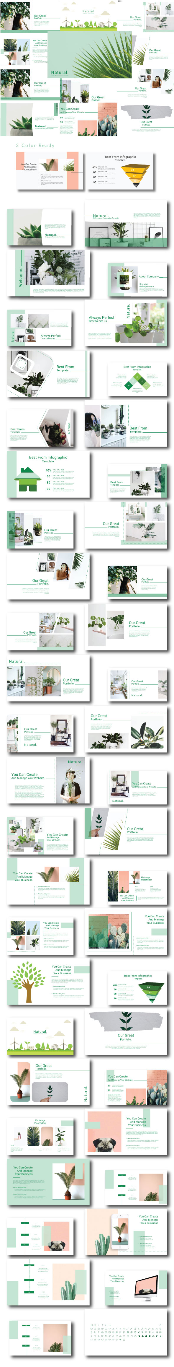 Natural - Powerpoint Template - Creative PowerPoint Templates