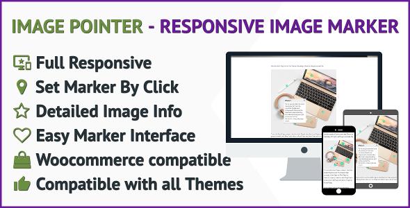 Image Marker WordPress Plugin a Full Responsive Image Marker for WordPress - CodeCanyon Item for Sale