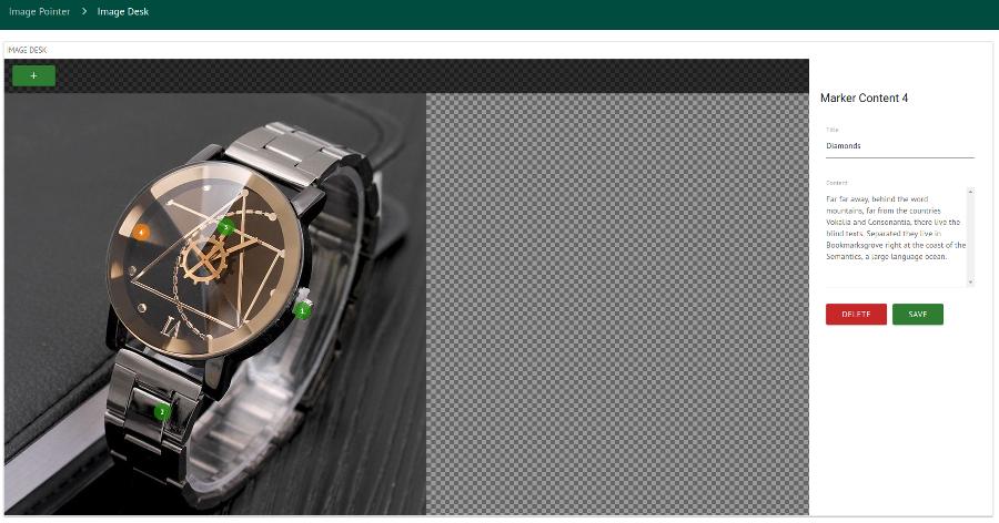 Image Marker WordPress Plugin a Full Responsive Image Marker for WordPress