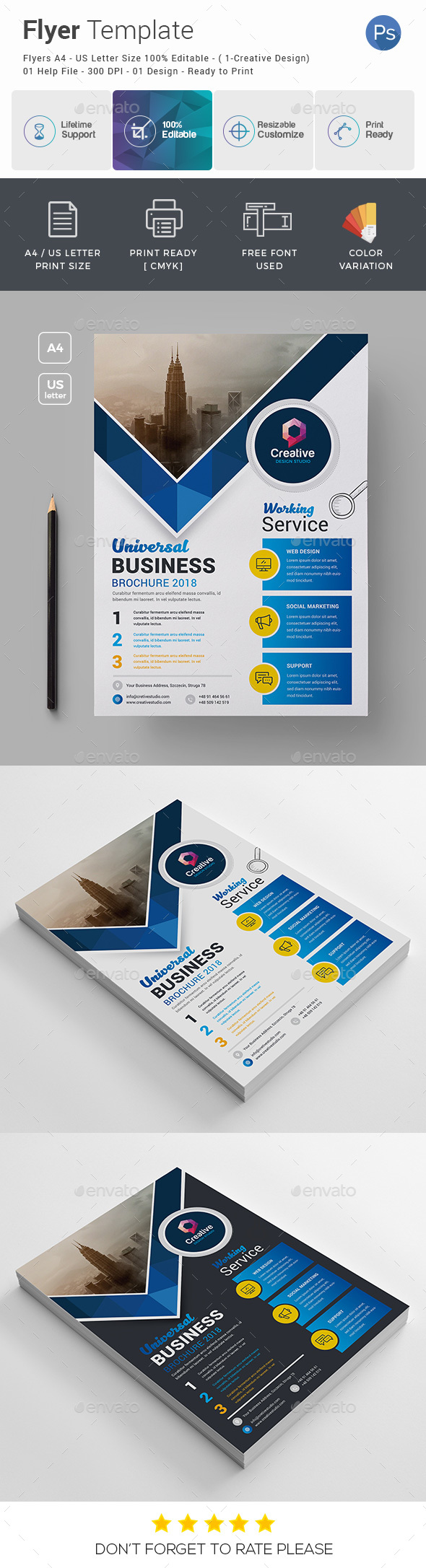 GraphicRiver Business Flyer 21004756