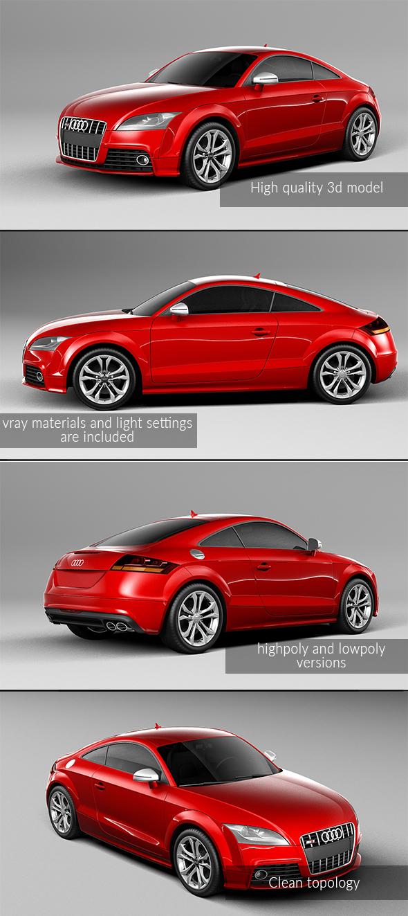 3DOcean Audi TTS 21004762