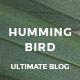 Hummingbird - The Ultimate Blog Theme - ThemeForest Item for Sale