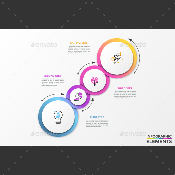 GraphicRiver Modern Infographic Process Template 21004909