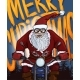 Vector Cartoon Christmas Postcard - Santa Claus - GraphicRiver Item for Sale