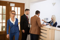 Business people in the reception are of an office building - PhotoDune Item for Sale