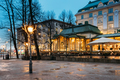 Helsinki, Finland. Famous And Popular Place Is Cafe, Bar, Restau