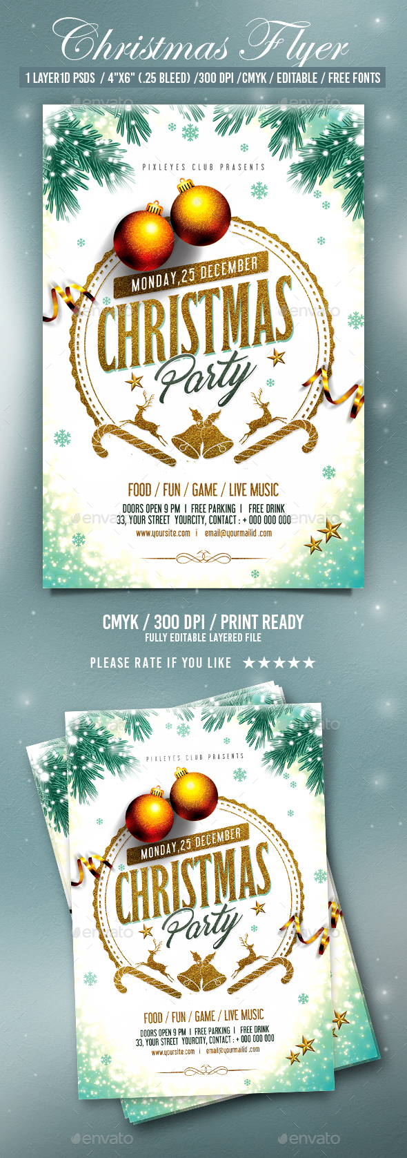 GraphicRiver Christmas Party 21005470