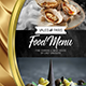 Menu Template - A4 & US Letter - GraphicRiver Item for Sale