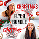 Christmas Party Flyers Bundle - GraphicRiver Item for Sale