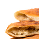 Delicious sliced puff pie with cabbage closeup. - PhotoDune Item for Sale