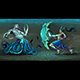 Fighting Scene Between Elf and Sea Monster - GraphicRiver Item for Sale
