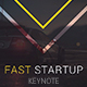 Fast Startup Keynote Template - GraphicRiver Item for Sale