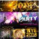 New years Facebook cover - GraphicRiver Item for Sale