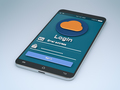 login mobile app