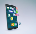 concept of mobile apps