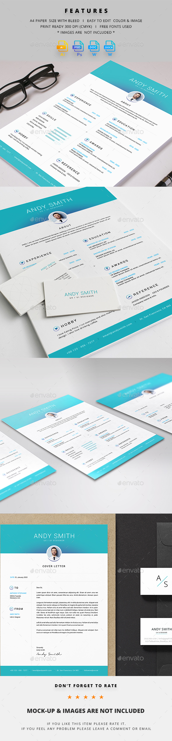 GraphicRiver Resume 21006073