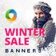 Winter Sale Banner Set