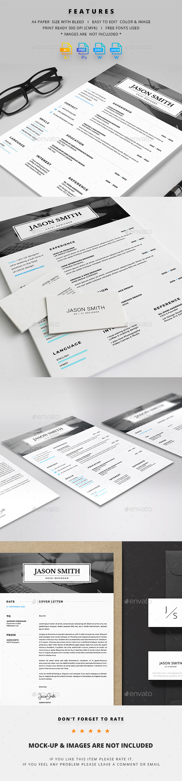 GraphicRiver Resume 21006441